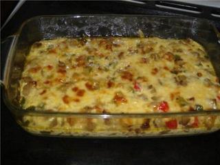 Овощная запеканка с баклажанами - рецепт с фото