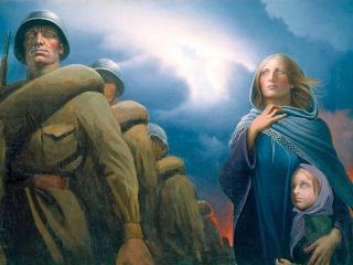 Мать солдата: женщинам войны посвящается
