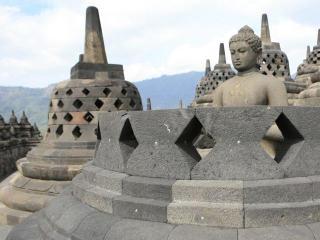 Индонезия. Остров Ява. Боробудур