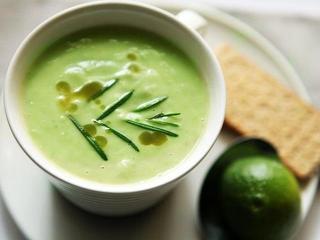 Холодный суп из авокадо. Оригинальный быстрый рецепт супа