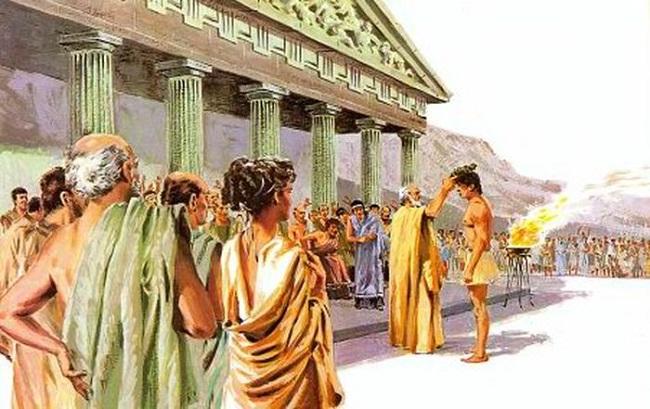 Венок древней греции