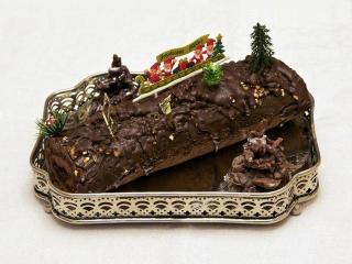 """торт """"Полено"""" Праздничные рецепты вкусной выпечки к Рождеству и Новому году. Французская кухня"""
