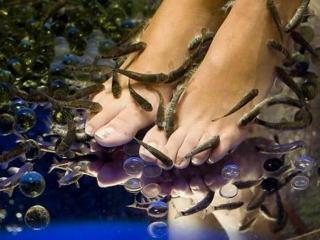 Предпраздничный уход за ногами