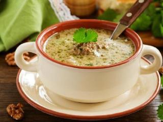 Суп харчо ореховый. Вкусный рецепт первого блюда