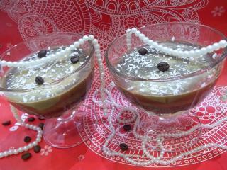 Молочно-кофейное желе. Рецепт с фото
