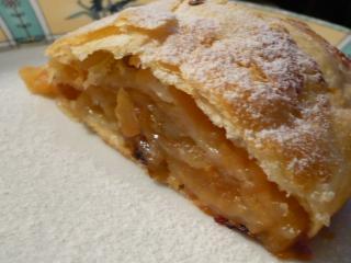 Штрудель из яблок по-деревенски (рецепты выпечкит к «Яблочному Спасу»)